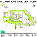 Plan évacuation