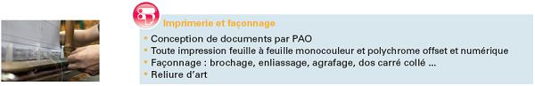 Secteur Imprimerie & Façonnage